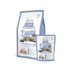 Brit Care Cat Daisy I've to control my Weight (Индейка, рис)