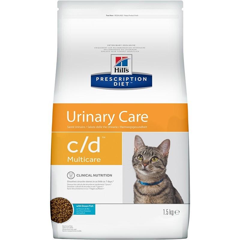 Hill's Prescription Diet c/d Multicare Urinary Care (Рыба)