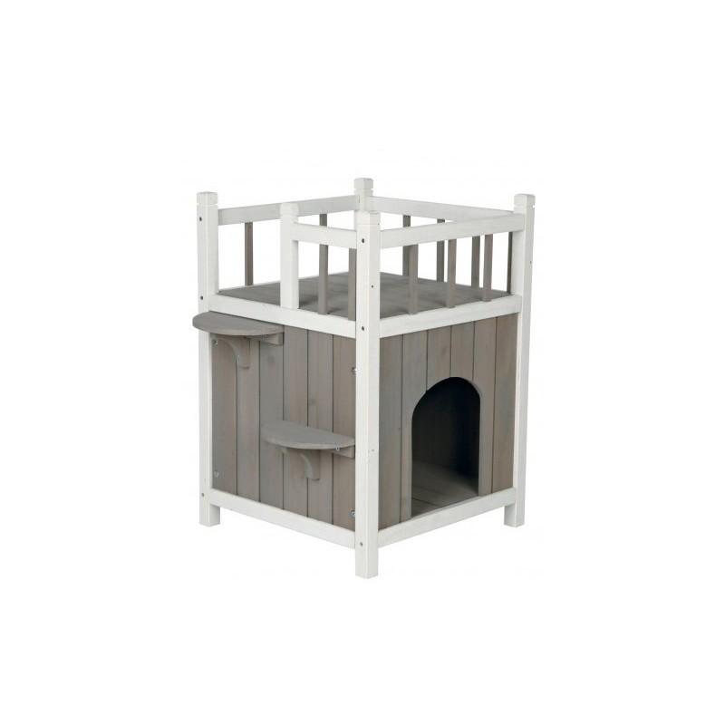 Trixie Домик для кошки с балконом