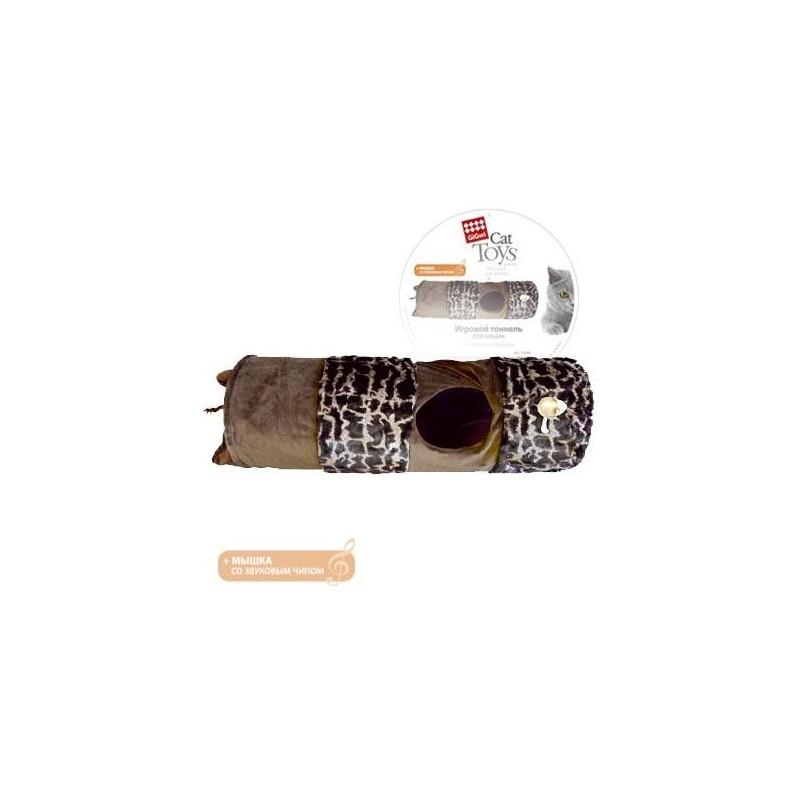 GiGwi Игровой тоннель с мышкой со звуковым чипом
