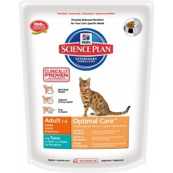 Hill's Science Plan Feline Adult Optimal Care (Тунец)