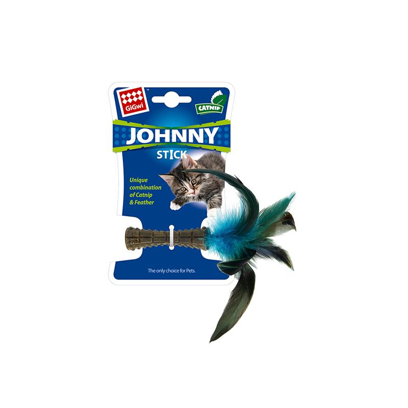 GIGwi Прессованная кошачья мята с пером 1