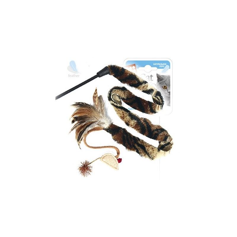GiGwi Дразнилка на стеке с мышкой