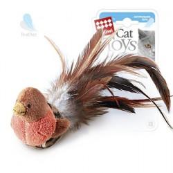GiGwi Птичка с перьями