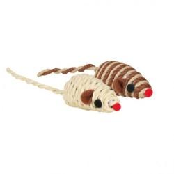 """Набор игрушек """"TRIXIE"""" в виде мышек, 132 шт"""