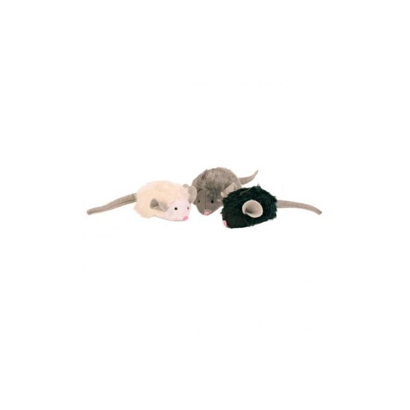 """Набор игрушек """"TRIXIE"""" в виде мышек, 12 шт"""