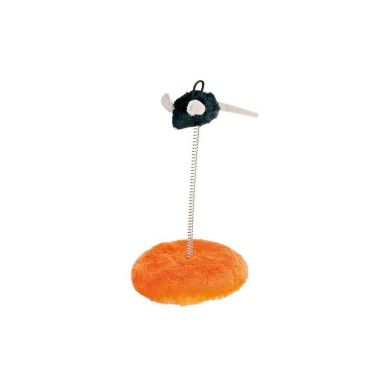 """Игра """"TRIXIE"""" в виде мыши на пружинке, 15 х 25 см"""