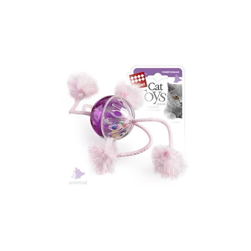 GiGwi Мячик пластмассовый с погремушкой
