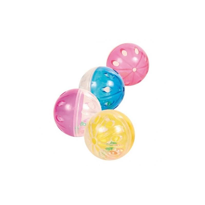 "Игрушка ""TRIXIE"" шарики трещащие (4 шт)"