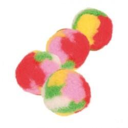 """Игрушка """"TRIXIE"""" """"Pompon balls"""", с кошачьей мятой (4 шт)"""