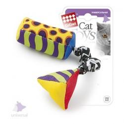 Тканевая дразнилка для кошки с кошачей мятой