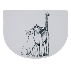 "Коврик ""TRIXIE"" под миску для еды ""Pussy Cat"""