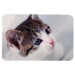 """Коврик под миску """"TRIXIE"""" с фото кошки"""