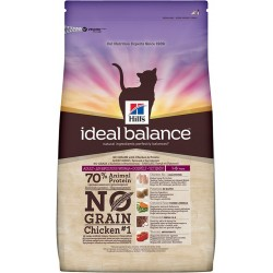 Hill's Ideal Balance Feline Adult No Grain (Курица)