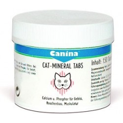 Canina Cat-Mineral Tabletten (минеральные таблетки для кошек)
