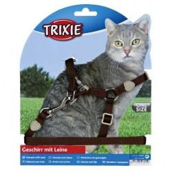 """Набор """"Trixie"""" """"Premium"""" (шлея + поводок) для кошек"""
