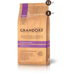 Grandorf Sensitive Care Holistiс Lamb & Rice Adult Large Breed