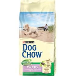 Dog Chow корм для щенков (Ягненок, рис), 14 кг