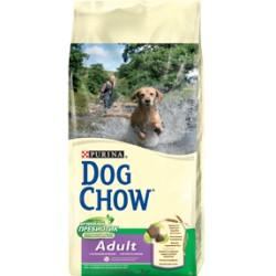 Dog Chow корм для взрослых собак (Ягненок, рис) 14 кг