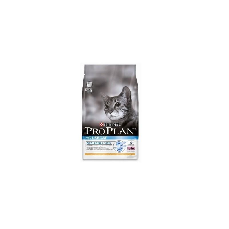 Purina Pro Plan д/домашних кошек (Курица, рис)