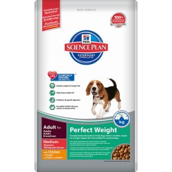 Hill′s Science Plan Canine Adult Perfect Weight Medium
