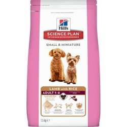 Hill′s Science Plan Canine Adult Small&Miniature L&R