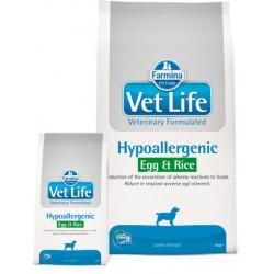 Farmina Vet Life Dog Hypoallergenic Egg&Rice (Яйцо, рис)