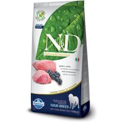 Farmina N&D Lamb & Blueberry Adult Maxi (Ягненок, черника)