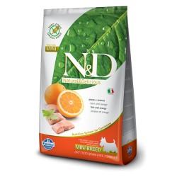 Farmina N&D Fish & Orange Adult Mini (Треска, апельсин)
