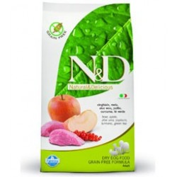 Farmina N&D GF Grain Free Adult (Дикий кабан, яблоко)