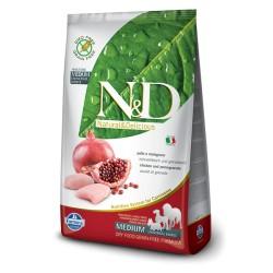 Farmina N&D GF Adult Grain Free (Курица, гранат)