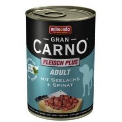 Gran Carno Fleisch Adult (Лосось, шпинат), 400 гр