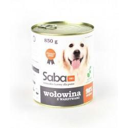 Saba Корм консервированный для собак «Говядина с овощами и витаминами»