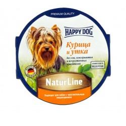 Happy Dog Паштет Курица и Утка