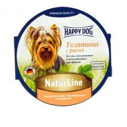 Happy Dog Паштет Телятина с рисом