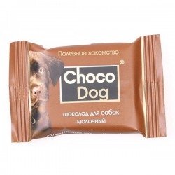 """Шоколад молочный """"Choco Dog"""", 15 г"""