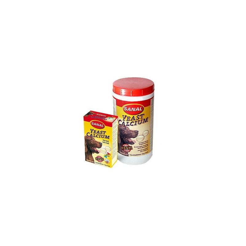 Sanal для собак дрожжи-кальций, 100 таблеток