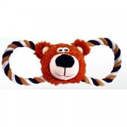 "Lilli Pet игрушка ""BEAR HEAD С ПИЩАЛКОЙ"""