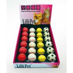 """Lilli Pet игрушка """"Мячик Спонж"""" неоновый"""