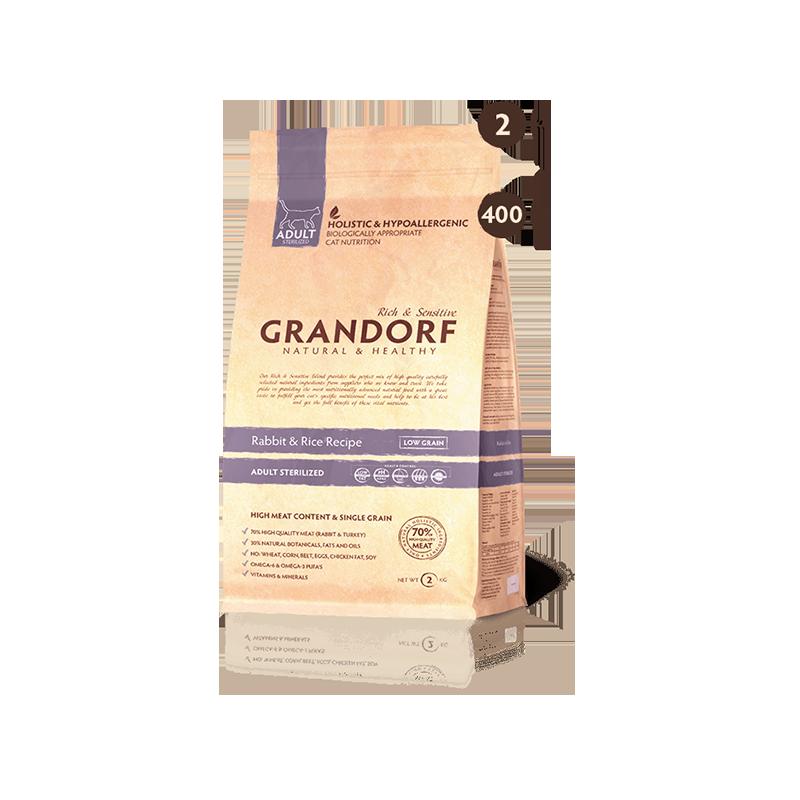 Grandorf Rabbit&Rice Adult Sterilized