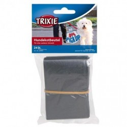 """Пакеты """"TRIXIE"""" для уборки за собаками (M, черные, 24 шт)"""