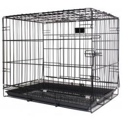 PetsLife Клетка для животного, черная