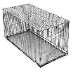 Клетка-переноска с металлическим поддоном 1