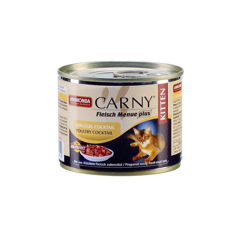 Консервы Carny Kitten (Домашняя птица)