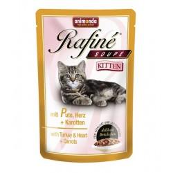 Rafine Soupe Kitten (Индейка, сердце, морковь), 100 гр