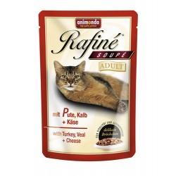 Rafine Soupe Adult (Индейка, телятина, сыр), 100 гр