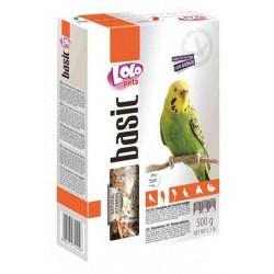 Lolo Pets Basic Корм для волнистых попугаев