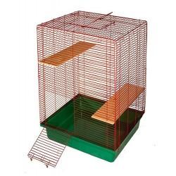 Клетка для шиншилл, 2 этажа