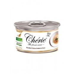 Cherie in Gravy shredded juicy chicken meat