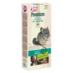 Lolo Pets Smakers Premium Лакомство для шиншилл